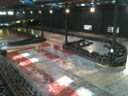 Go Karting in Brighton