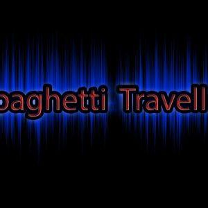 spaghetti traveller logo background