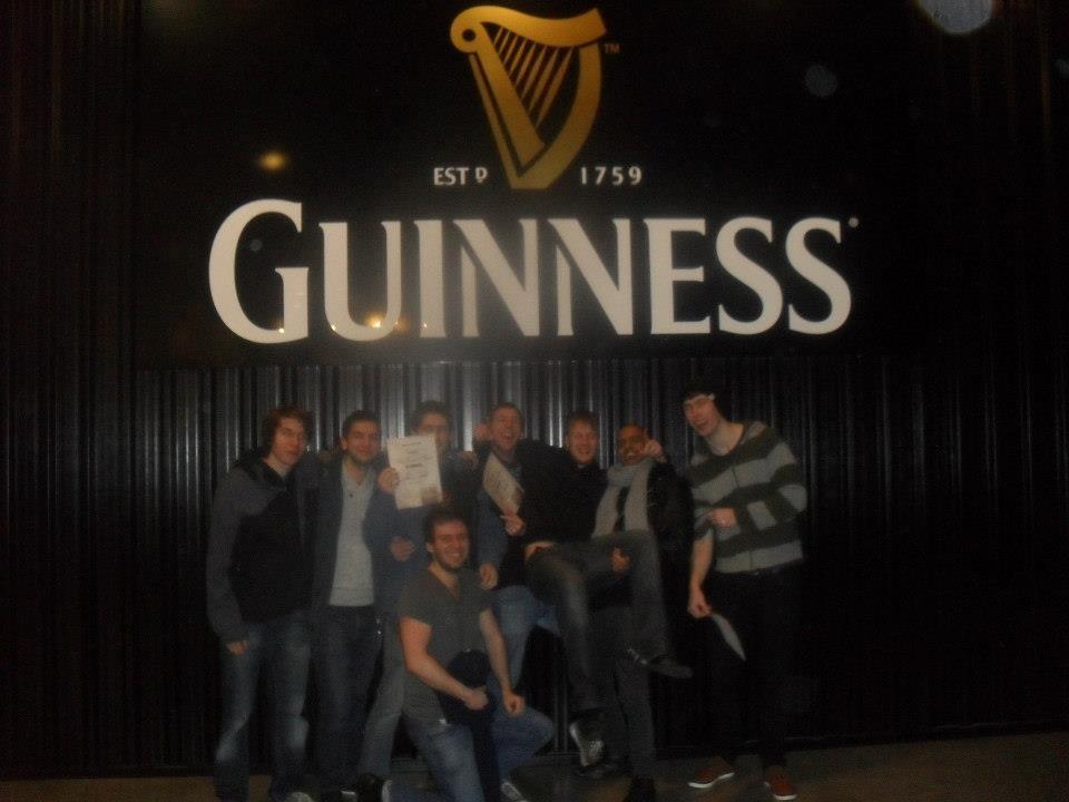 Drinking in Dublin