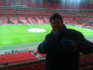 Lee at wembley