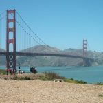 Golden Gate bridge walk and cycle