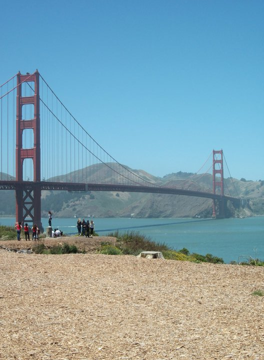 Golden Gate bridge walk and cycle -