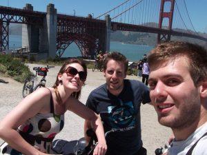 Cycling the Bridge
