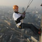Abseiling in London – Guy's Hospital