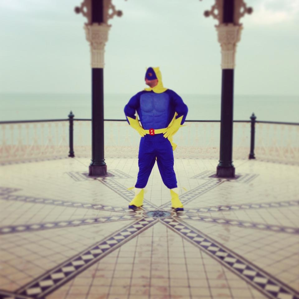 Bananaman in Brighton