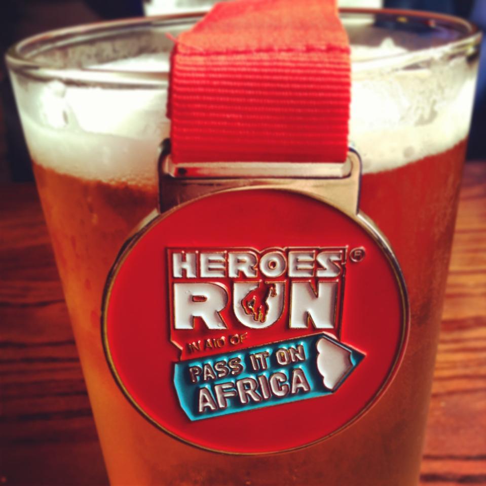 Heroesrun first pint
