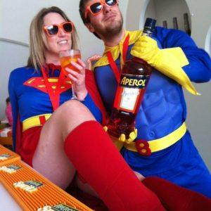 Tom & Michelle Superhero Run in Brighton