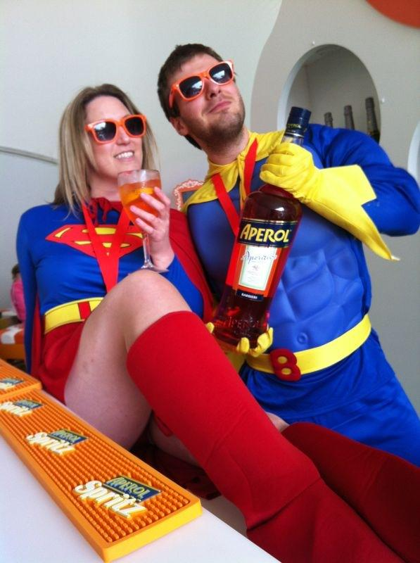 Tom & Michelle Superhero Run in Brighton
