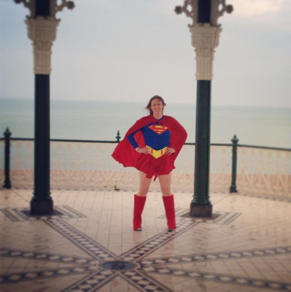 Michelle as superwoman