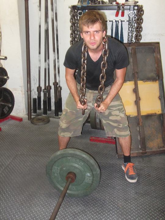 Chain in the gym