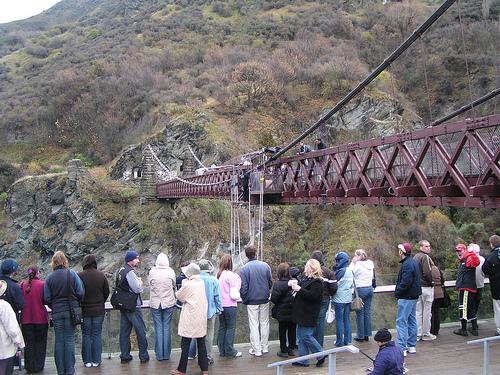 Kawerau Suspension Bridge