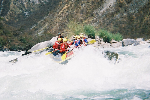 White Water Rafting on the Apurimac River