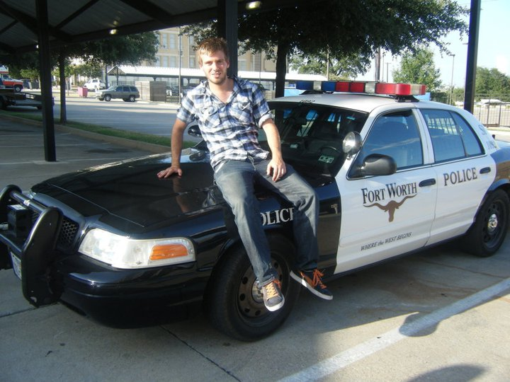 police car in Texas