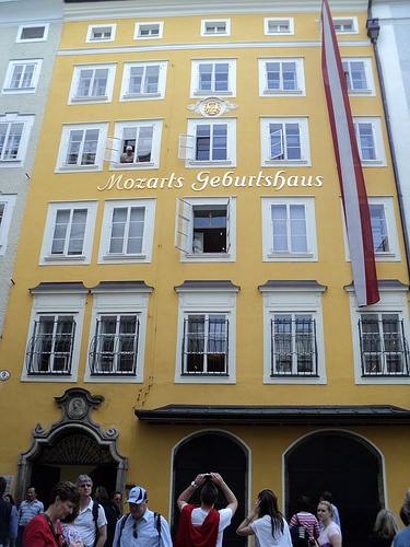 Birthplace of Mozart