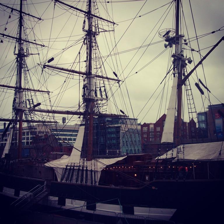 pirate boat in bristol