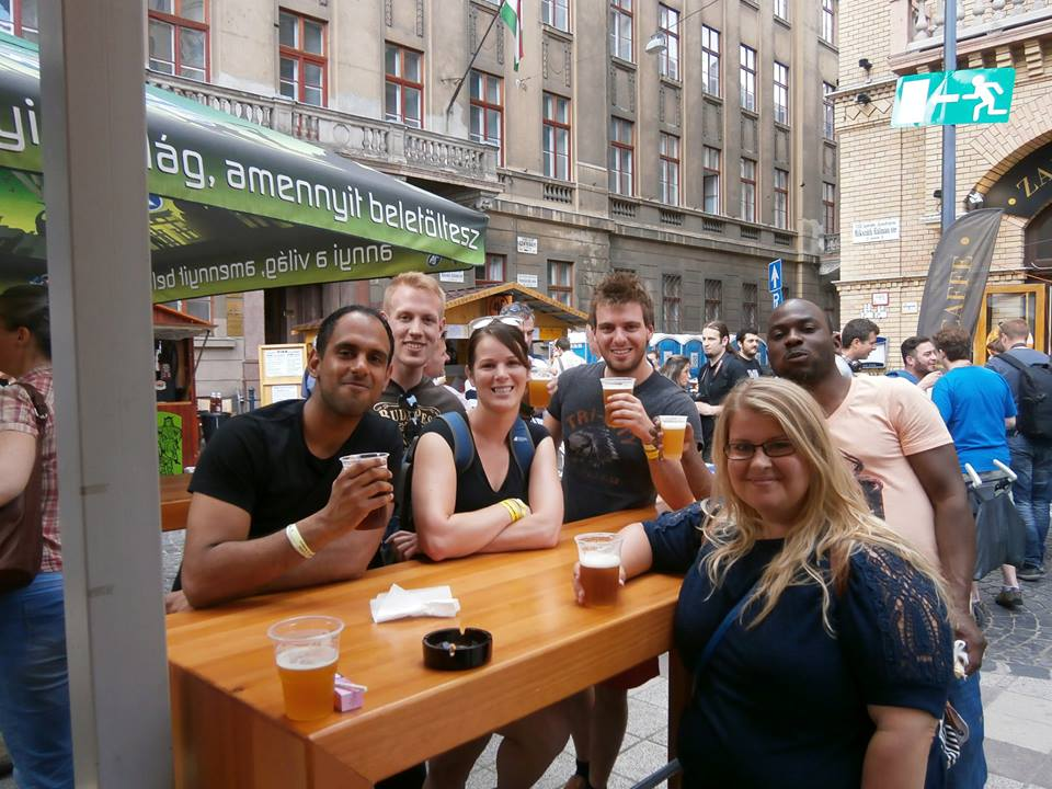 beer festival in budapest