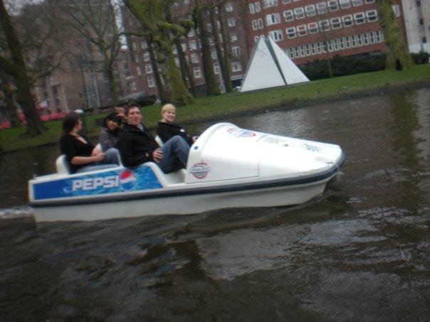 pedalo amsterdam