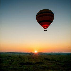 kenya hot air balloon