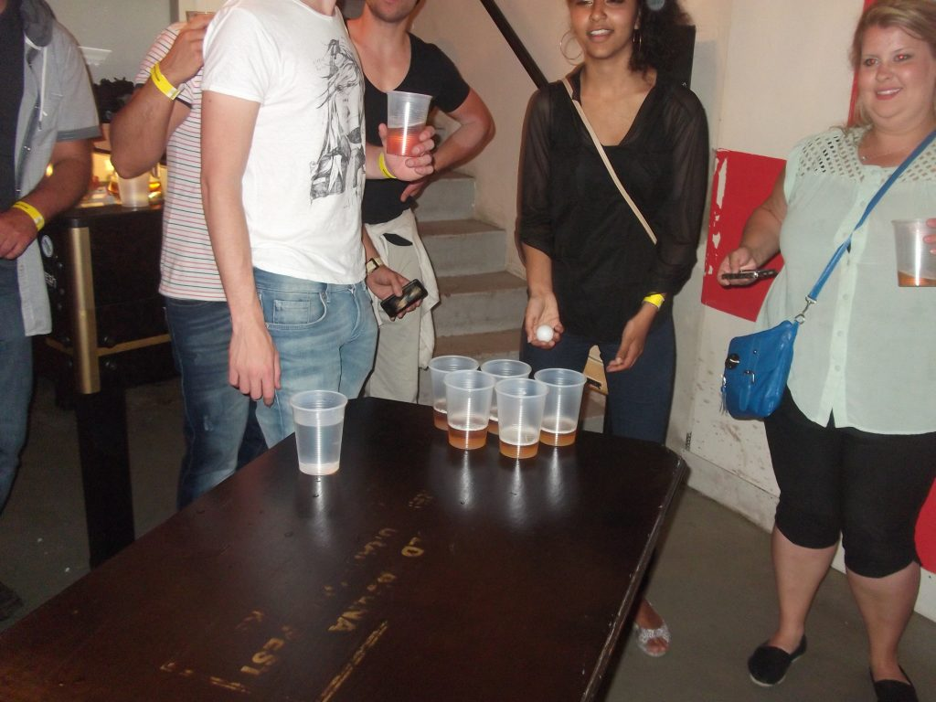 beerpong in budapest