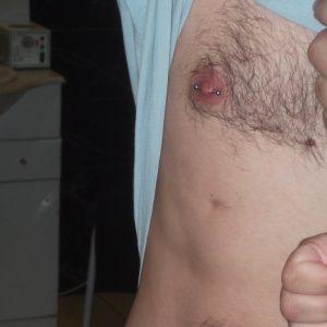 nipple piercing two
