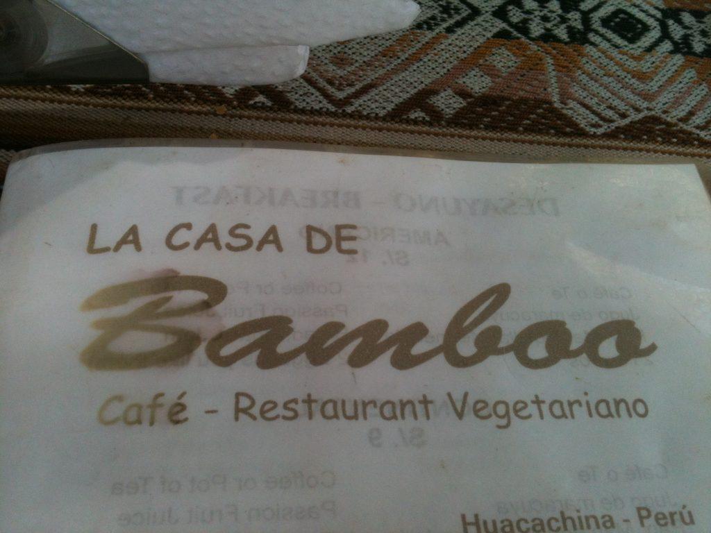le casa de bamboo