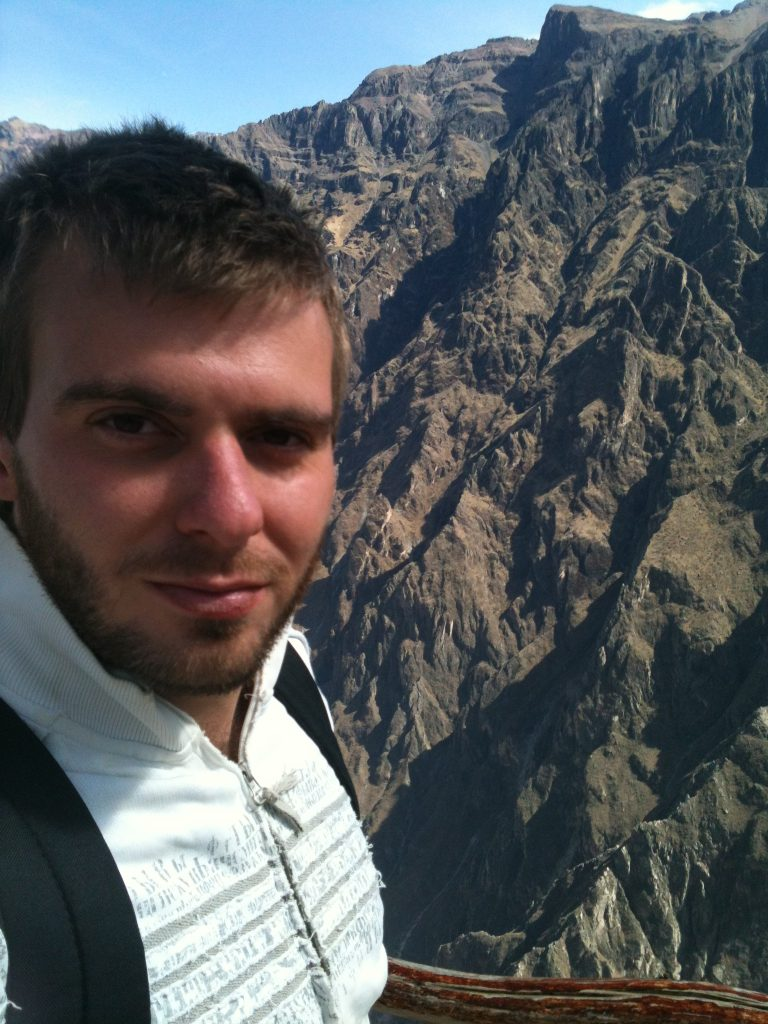 climbing the colca canyons