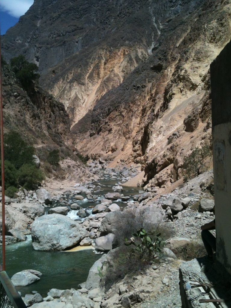 water colca canyons