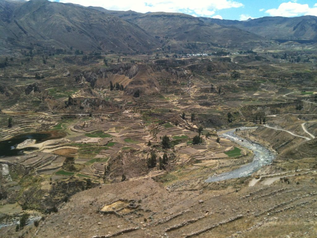 colca canyon views
