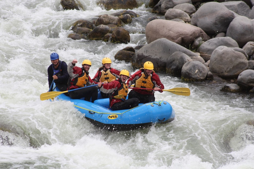 rafting the chili river