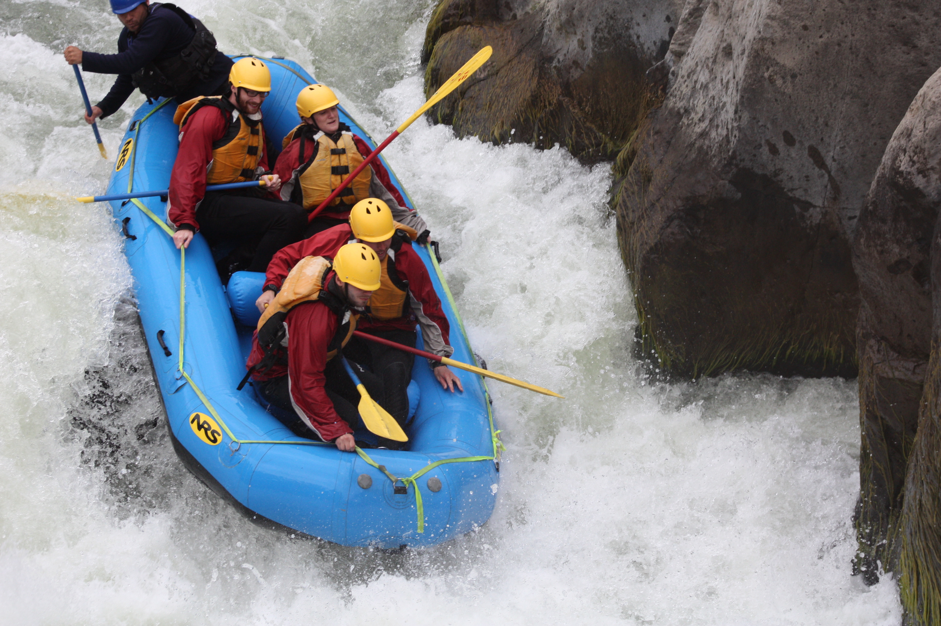 white water rafting in arequipa