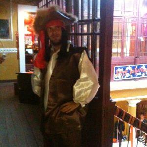 Tom Bourlet as Jack Sparrow