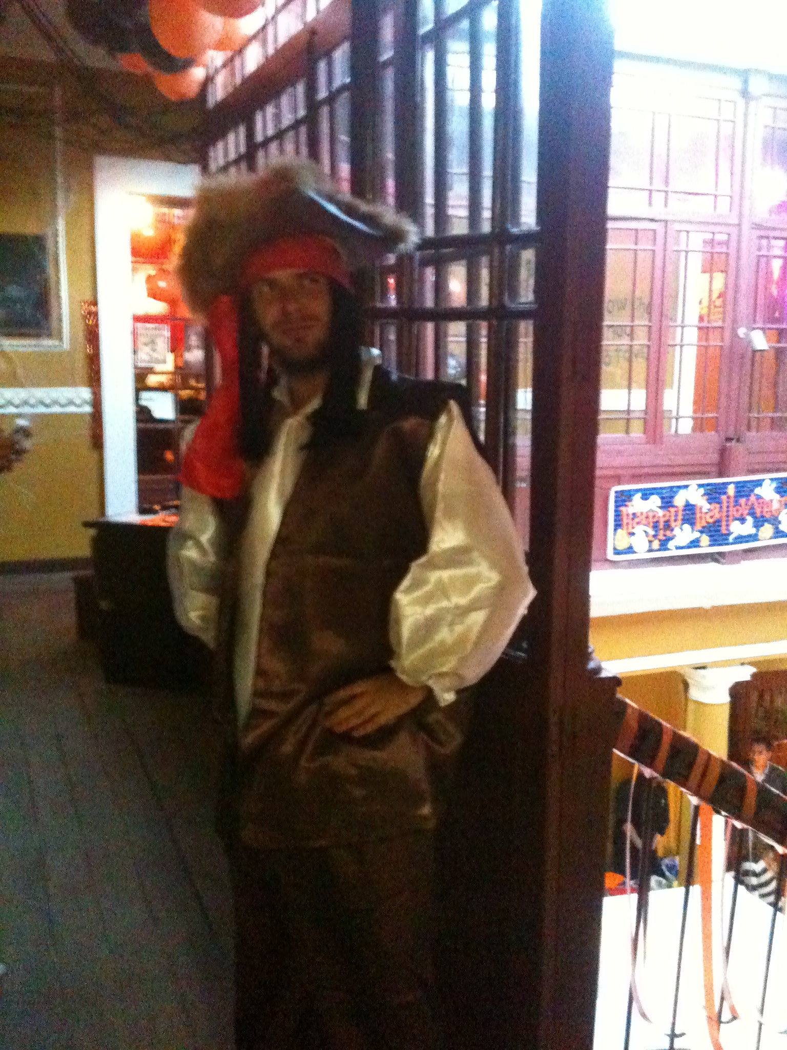 Tom Bourlet as Jack Sparrow