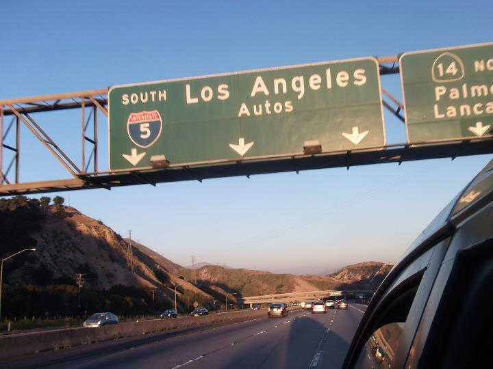 los angeles roadtrip