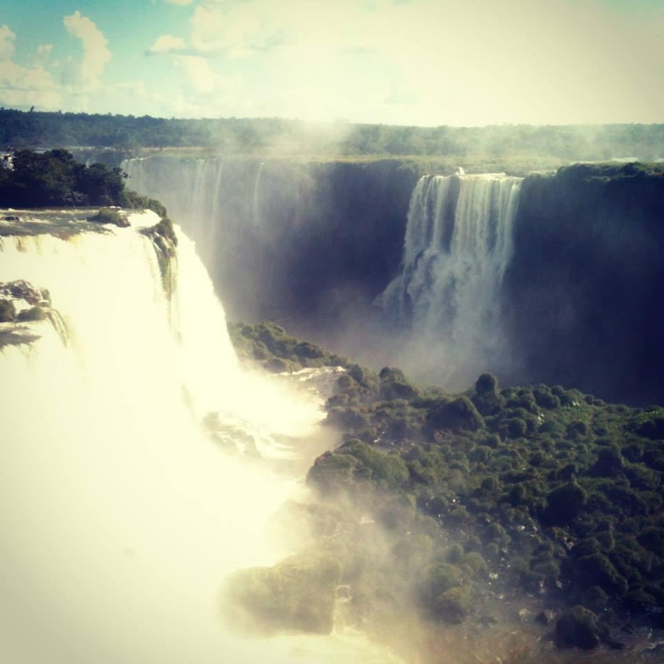 Iguazu Falls view