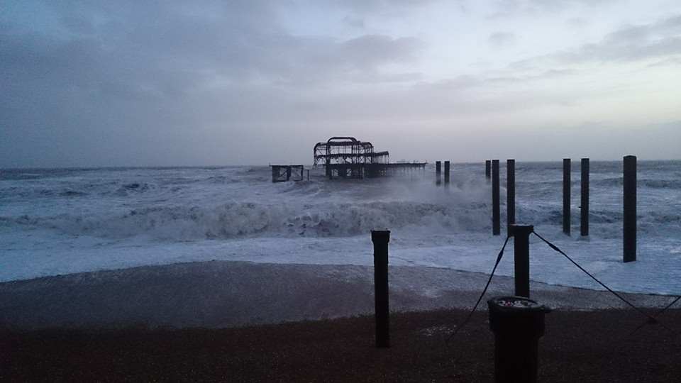 Brighton Burned Pier