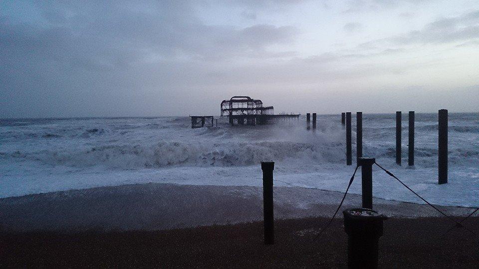 Brighton Burned Pier