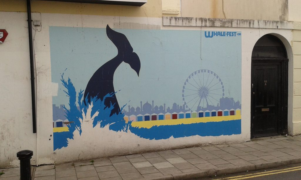 whale graffiti