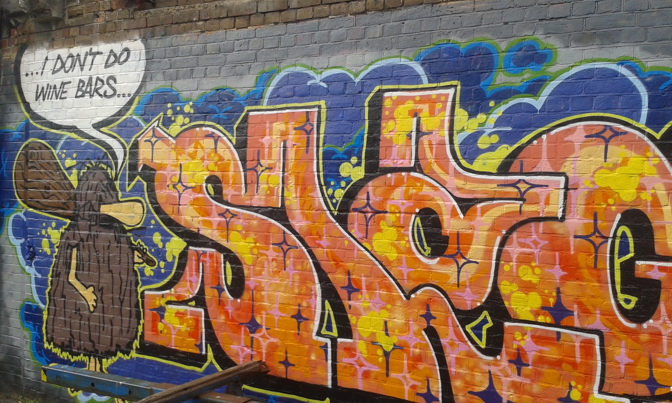 Street Art In Brighton - Cool Graffiti