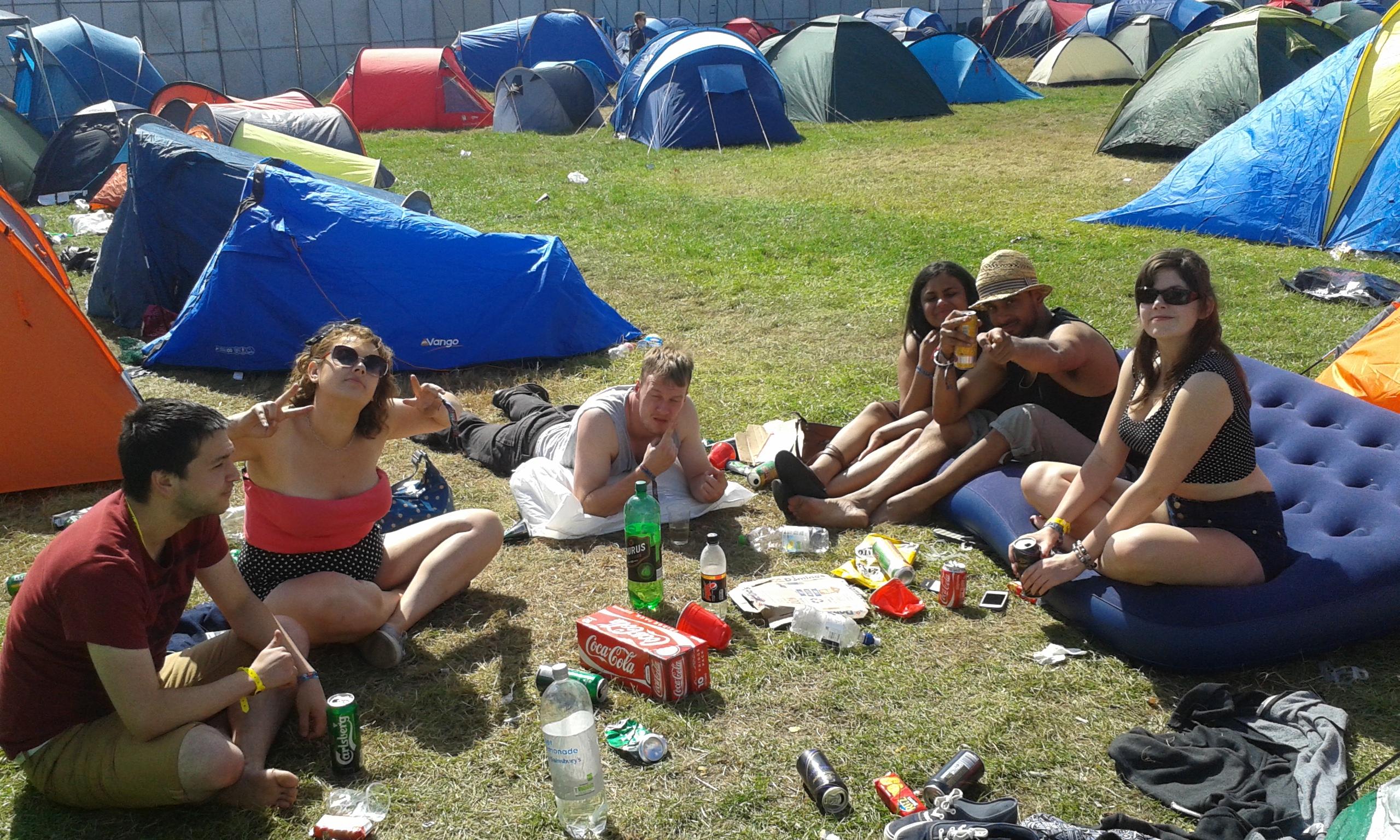 camping at reading