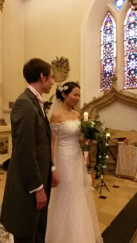 luke and vanessa's wedding
