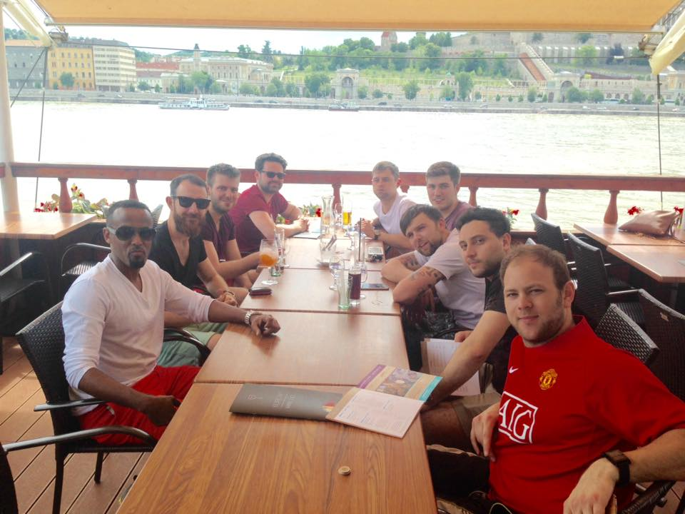 budapest bar on a boat
