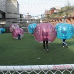 The Launch Of The Bubble Football World Cup