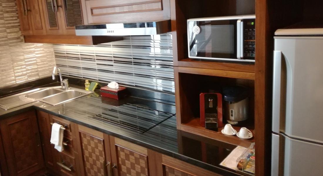 kitchen of villa
