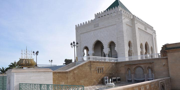 Mausoleum-of-Mohammed-V
