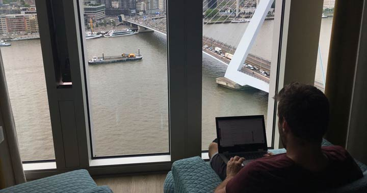 emailing travel blog